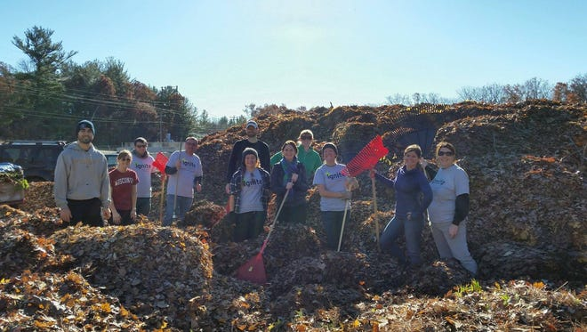 Volunteers are sought for the United Way of Portage County Volunteer Center's Make A Difference Day Rake-a-thon on Oct. 28, 2017.
