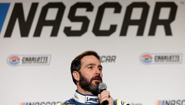 Jimmie Johnson will be shooting for a record eighth