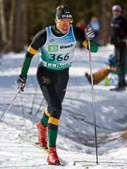 Nordic skier Jorgen Grav swept the classic sprint and freestyle races at last year's UVM Carnival at Trapp Family Lodge.
