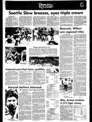 Battle Creek Sports History - Week of May 21, 1977