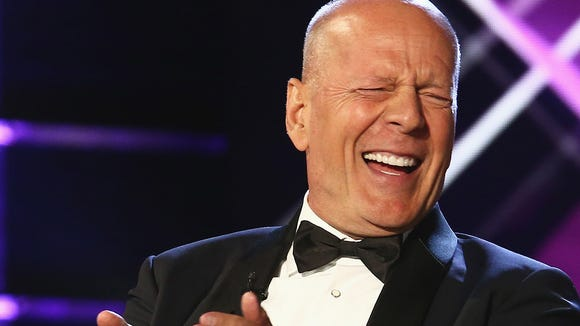 Bruce Willis laughed at himself plenty during his Comedy