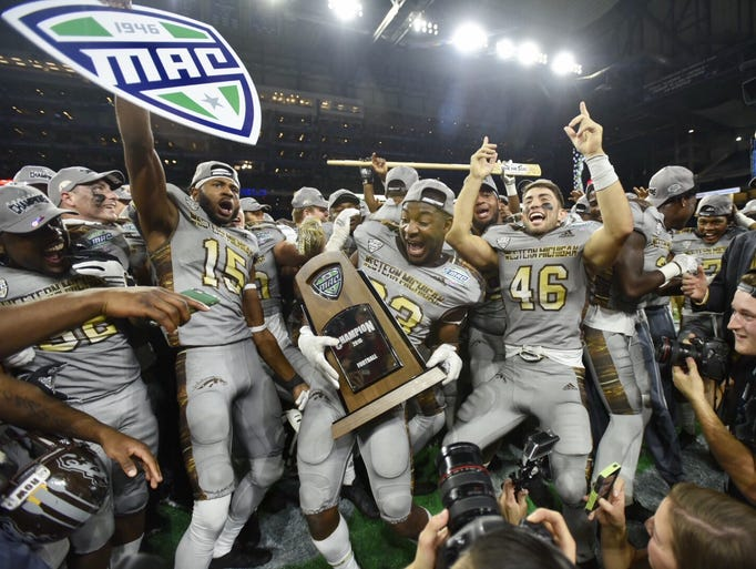 The MAC championship game has been at Ford Field since