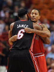 LeBron James and Derrick Rose were both No. 1 picks.