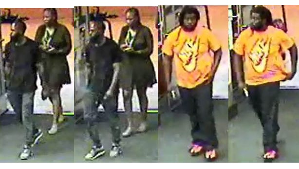 The Charlotte County Sheriff's Office is looking to identify these suspects in car break-ins along Kings Highway.