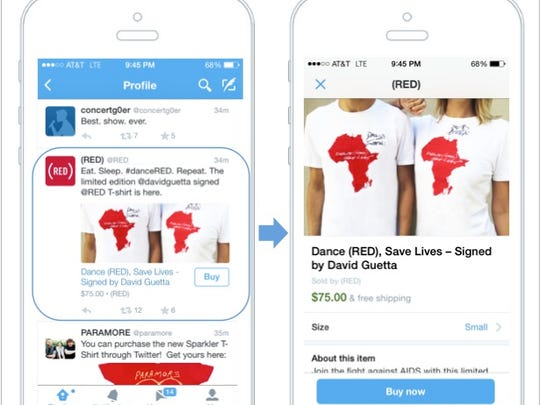 """Twitter's new """"buy"""" button"""