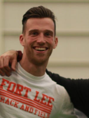 Daniel Cirone of Fort Lee is The Record Boys Indoor Track Coach of the Year for the 2016-17 season.