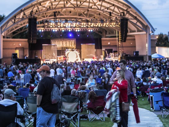 People packed it in in August as Hairball played the