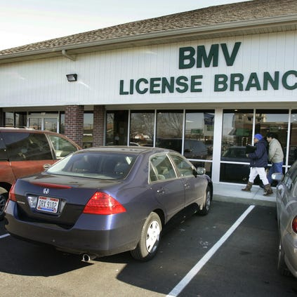 An exterior of  the BMV branch at 10 S. Mickley Ave.  / Frank Espich/The Star 2007 file photo