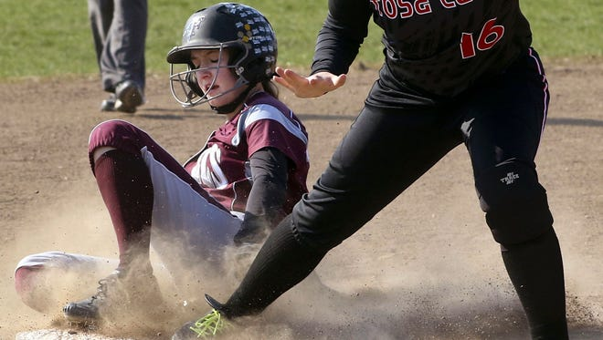 Cami Stigler is one of five all-Greater Metro Conference players back for Menomonee Falls.