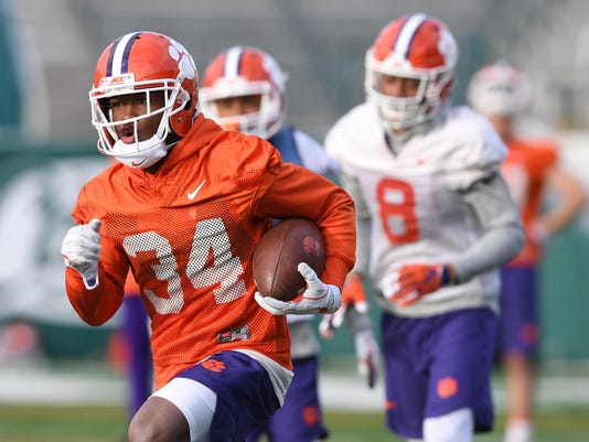 NCAA Football: Sugar Bowl-Clemson Practice