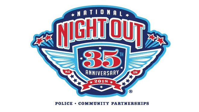 This is 35th year for National Night Out, being observed on Aug. 7