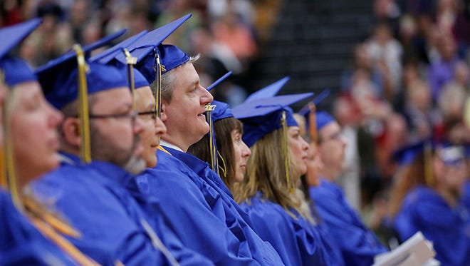 Moraine Park Technical College held its 2016-2017 commencement for graduating students Saturday, May 20, 2017, at Fond du Lac High School.
