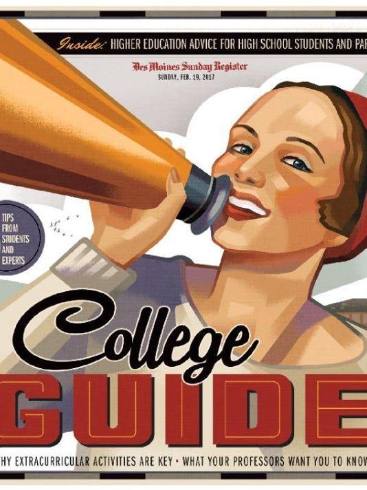 college guide cover