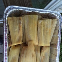Polly's new fave is tamales from Tortilleria Garcia.