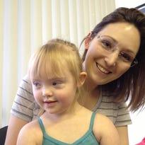June Calfee and her daughter, Matilyn, in 2014.