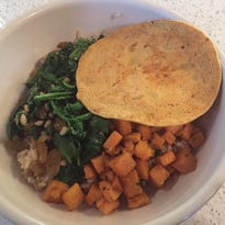 Polly Tried It: A meal in a bowl at Green Dog Cafe