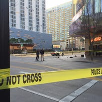 Reno police arrest a suspect who may be involved in downtown shooting