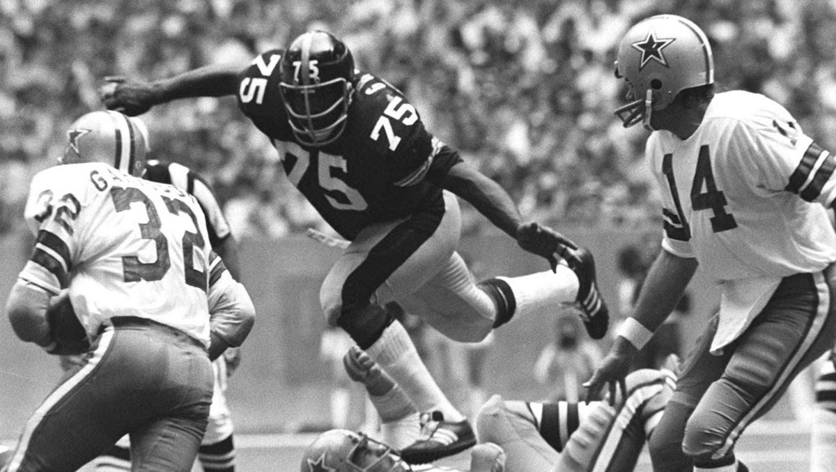 f8d74b165c8 'Mean' Joe Greene unsure if modern NFL rules would have hindered him