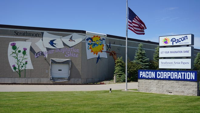 Pacon Corp. employs about 400 people in the Fox Cities, mostly at its Grand Chute facility.