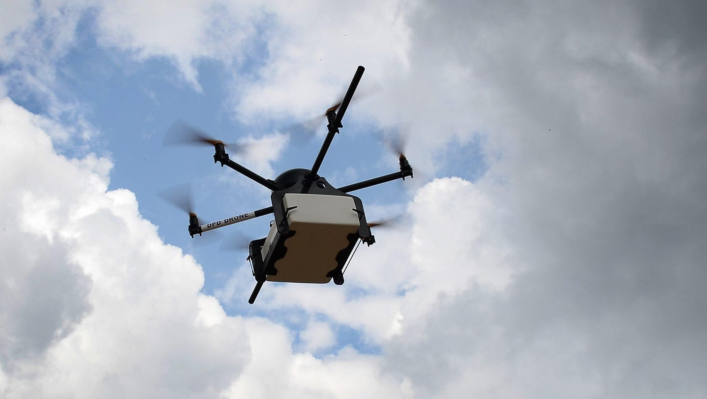 Drones with weapons are latest prison threat