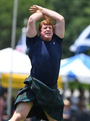 The Greenville Scottish Games were held at Furman University