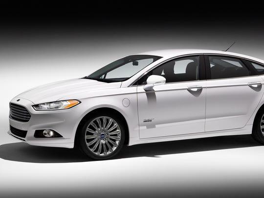 2014 Ford Fusion Energi plug-in hybrid