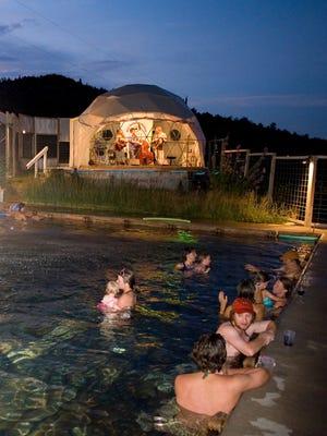 Norris - Norris Hot Springs