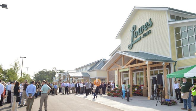 Lowes Foods said in February it would enter the Greenville market and add three to five area stores as part of its growth strategy. This is a photo of a grand opening in Pawley's Island