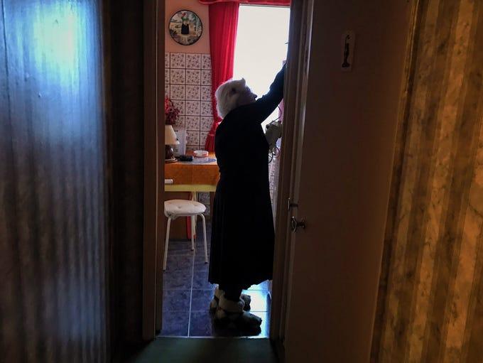 Gulag survivor Lyudmila Alekseevna Khachatryan in her