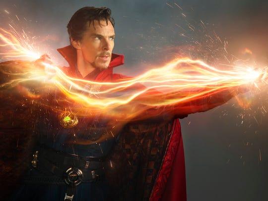 Benedict Cumberbatch brings magic into the Marvel Cinematic