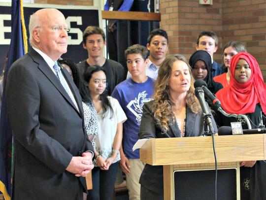 Interim Burlington High School Principal Tracy Racicot