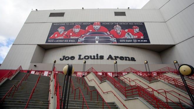 Joe Louis Arena.
