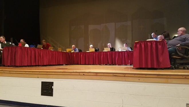 The Indian River Board of Education met on Jan. 18 to discuss the upcoming referendum.