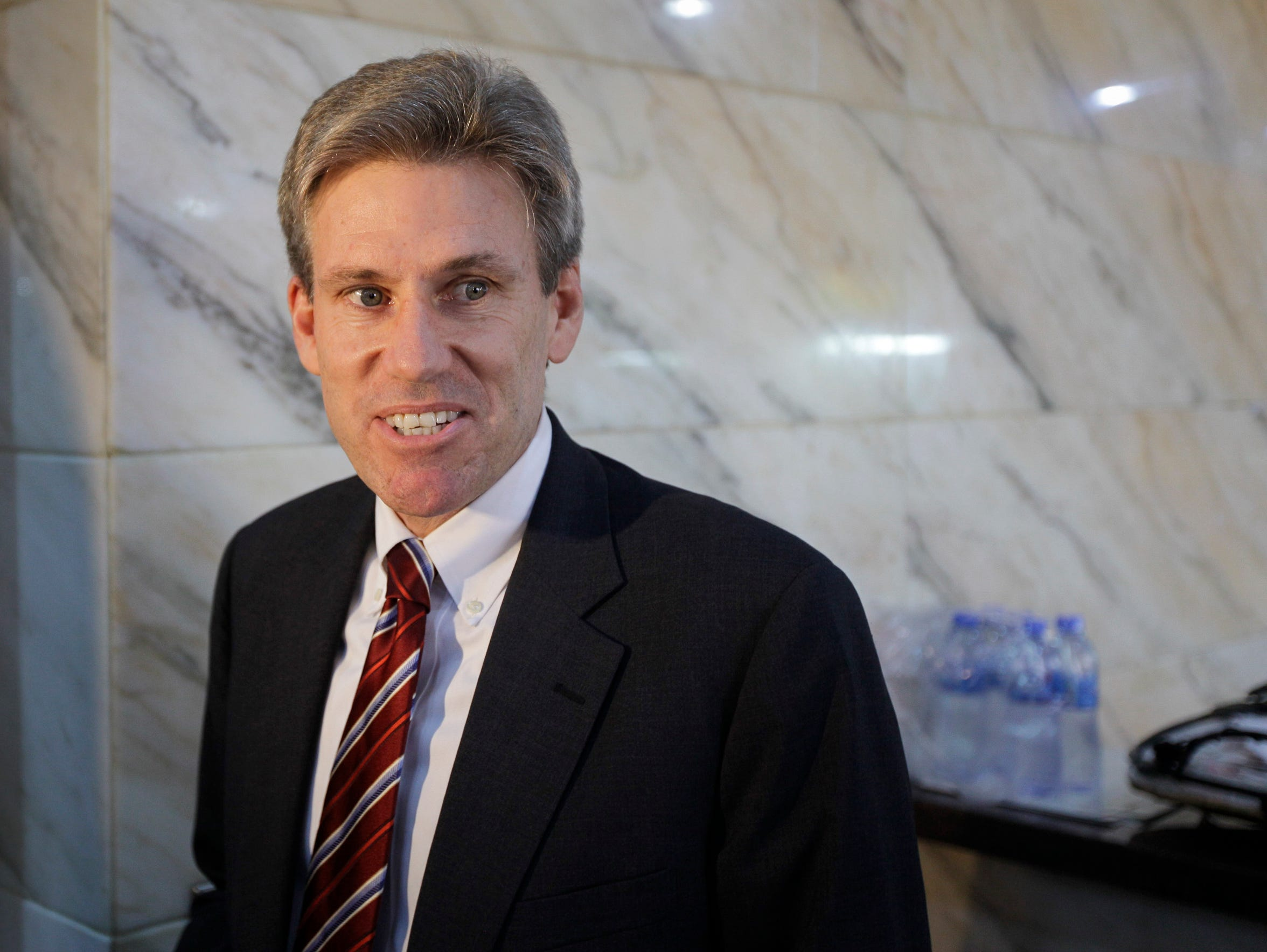 U.S. Ambassador Chris Stevens, seen in this 2011 photo,