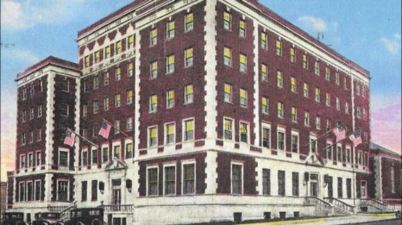Y.M.C.A. Building, Corner North Newberry and West Philadelphia Streets, York, PA (Postcard, S. H. Smith Collection)
