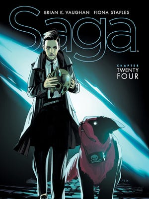 "Image Comics' ""Saga"" is once again one of the best comic books of the year."