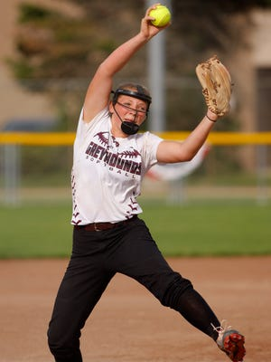 Grace Lehto is one of the key returners back for Eaton Rapids, which won CAAC White and Softball Classic titles last year.