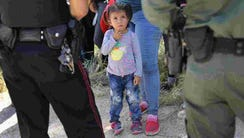 U.S. border and immigration officers have separated
