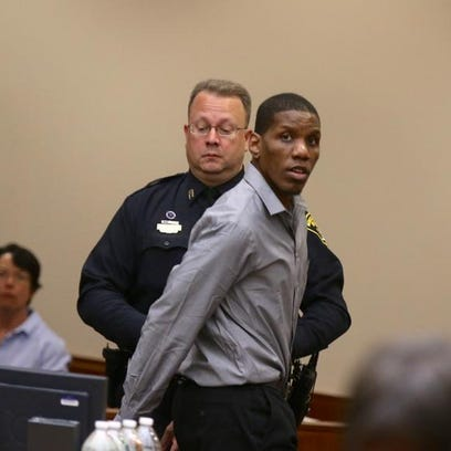 Thomas Johnson III, pictured during closing arguments