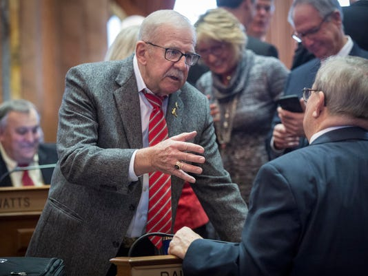 Iowa Legislature 2017 first day
