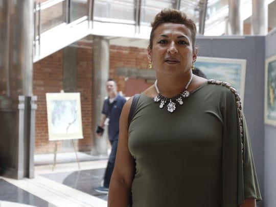 Karyna Jaramillo, líder trans y coordinadora de liberación de Trans Queer Pueblo.