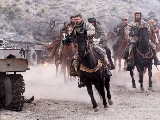 Chris Hemsworth as Captain Nelson in '12 Strong.'