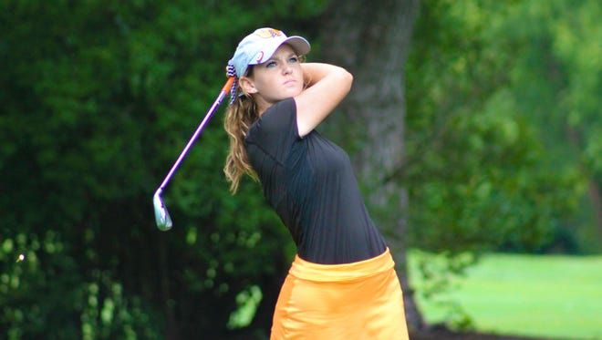Samantha Hatter won her third straight Greater Lafayette Women's Golf Association championship on Sunday, with a combined score of 148.