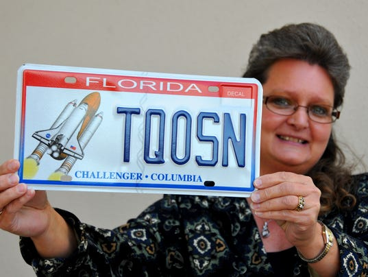 space shuttle license plate - photo #43