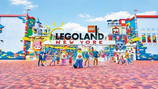 Located in Goshen, about 60 miles outside of Manhattan, Legoland New York will be geared to families with children and tweens and will include rides, attractions, and shows based on the popular toy brand.