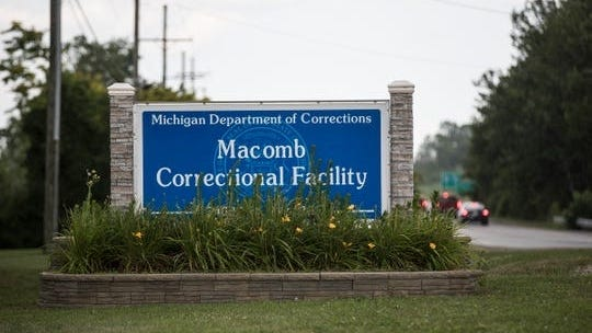 The Macomb Correctional Facility in Lenox, Tuesday, July 23, 2019.