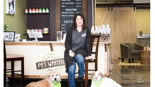 Cindy Morris owns the Pet Wants store on Woodward Avenue in Birmingham.