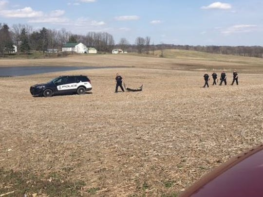 The pursuit of an Ashland County teen that ended in
