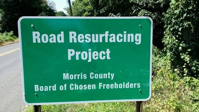 Road paving and upgrade work is underway in Roxbury and set to start in Rockaway Township.