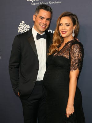 Jessica Alba and Cash Warren welcomed their first son Sunday.